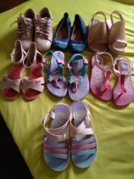 Lote de calçado infantil *menina