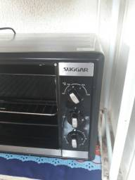 vendo forno suggar  novo 5 meses de uso quebrou a tampa de vidro