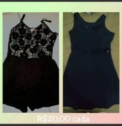 Macacão+ vestido
