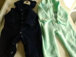Lote de bebê masculino tamanhos P e M (26 peças)