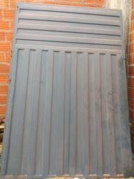 Portão 4 x 3 abertura lateral