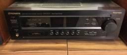 Receiver Pioneer VSX-D 307 com entrada para toca discos