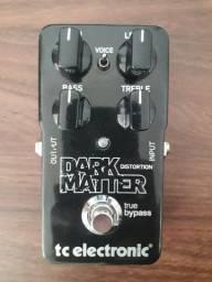 Pedal TC Electronic Dark Matter Distortion em excelente estado c/ caixa + cabo