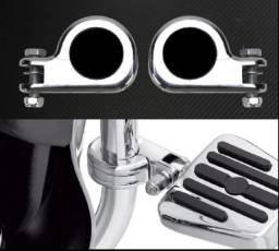 Abraçadeira da pedaleira para mata cachorro / protetor de motor