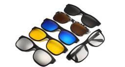 Armação Óculos de Grau + 5 lentes extras 6x1 - Em Salvador