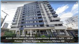 Alugo Apartamento no Vieiralves com 4 quartos no Edificio Porto Bello
