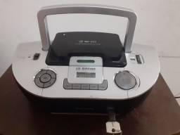 Rádio Portátil Philips USB- Entrada Pra Pendrive