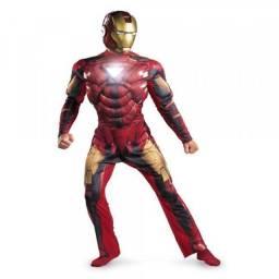 Vendo Fantasias Vingadores Deluxe Adulto Importada - Homem de Ferro