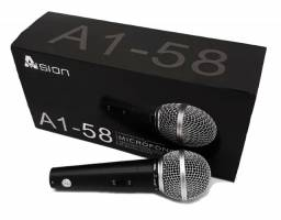 Microfone com fio Profissional A1-58