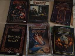 Livros diversos de RPG