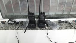 Rádio comunicador de segurança