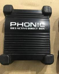 direct box ativo phonic db3