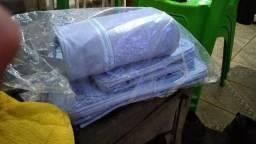 Vendo kit de bolsa de bebe   masculino 4 peças