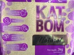 2 Kat Bom Natural Granulado Sanitário Para Gatos - Fvo 3kg