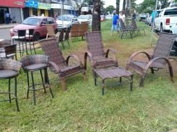 Cadeiras fibra sintetica preços apartir 150.00