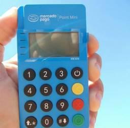 Máquina de cartão Mini Point - Visor iluminado ME30S - Novo