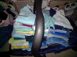 Lote de roupa de bebe + bebê conforto! Roupas em perfeito estado de conservação