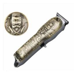 Máquina Barba E Acabamento Kemei-3708 Metal 10w Potencia
