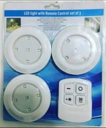 Luminária Led com Controle Remoto