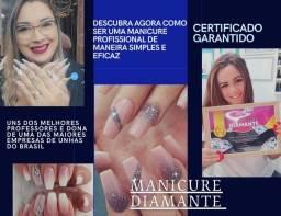 Promoção de R$199,00 por R$50,00 Curso Manicure Diamante