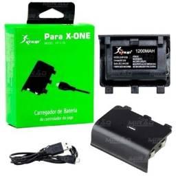 Bateria E Cabo Carregador Controle Xbox One Kp 5126 Knu