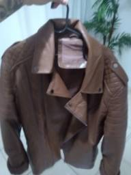 Jaqueta de couro semi novo