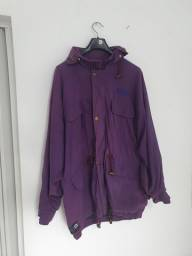 Casaco jaqueta parka roxo