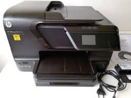 Impressora, copiadora, fax, scanner, web Multifuncional Marca HP