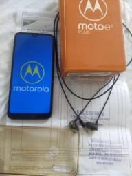 Moto E6 plus 64 giga com nota fiscal