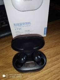 Fone De Ouvido Sem Fio Lenovo via Bluetooth