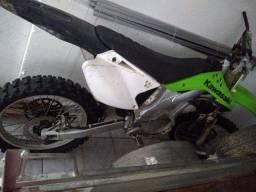 Kawasaki kxf 250  quadro completo
