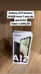 Samsung Galaxy A12 Branco 64GB LOJA FÍSICA