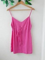 Vestido pink curto - P