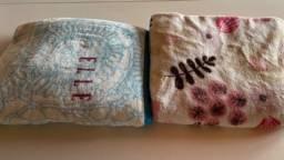 2 cobertores de casal