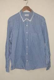 Camisa Social Wolens Slim