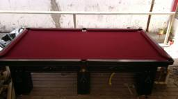 Mesa de snooker semi oficial 2,25x1,25 luxo 6 pés
