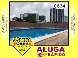 Manaíra, 3 suítes, 85m², R$ 2000 C/Cond, Aluguel, Apartamento, João Pessoa