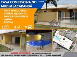 Casa com Piscina no Jardim Jacarandá!!