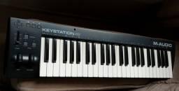 Teclado controlador M AUDIO keystation 49