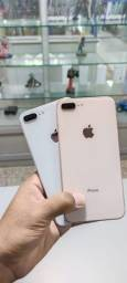 iPhone 8 plus 64GB ORIGINAL VITRINE Garantia de 90 dias mais brindes