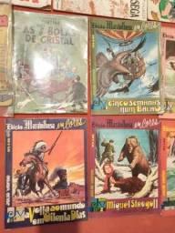Revistas em quadrinhos Julio Verne