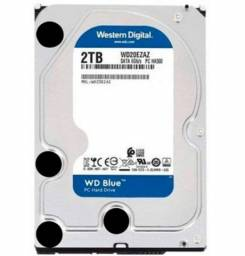 HD Western Digital WD Blue 2TB Sata III - WD20EZAZ - Loja Fgtec Informática