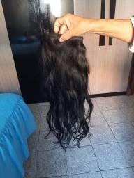 Vendo cabelo 55cm com 155 gramas