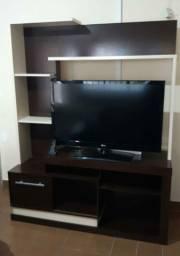 Rack sala para tv praticamente novo barato para vender logo