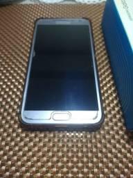 Samsung Galaxy J4 cor prata 32gb