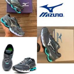 Novo lançamento original mizuno esportivo casual tênis esportivo mizuno waver