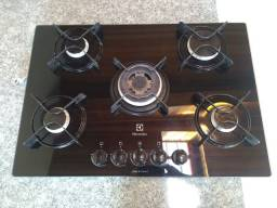 Cooktop Electrolux - 5 bocas - tripla chama