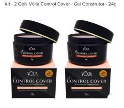 Kit 02 géis vólia control cover - gel construtor