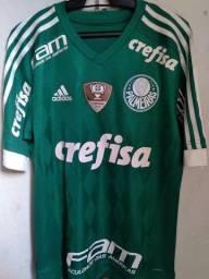 Camisa Palmeiras 2015 de jogo.
