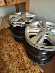 Rodas de ferro Nissan Kicks
